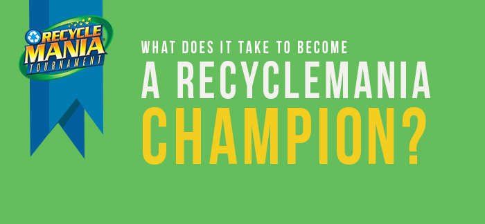 RecycleMania Champion Header