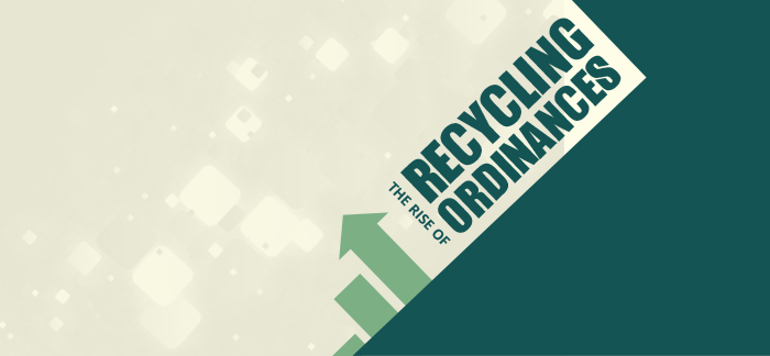 Rise of Recycling Ordinances Header