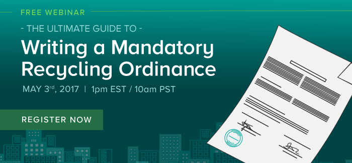 How to Write a Mandatory Recycling Ordinance