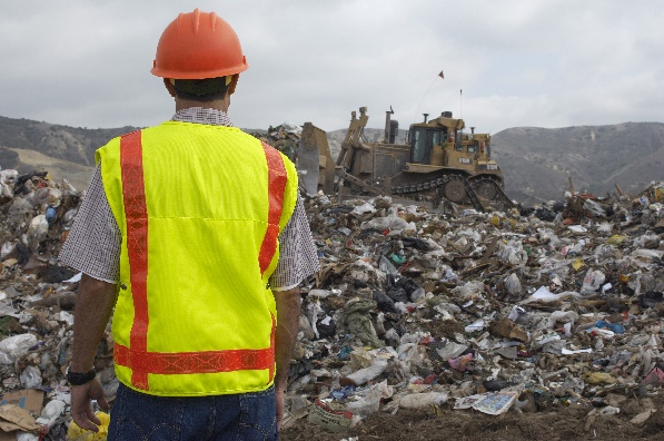 Surveying Landfill