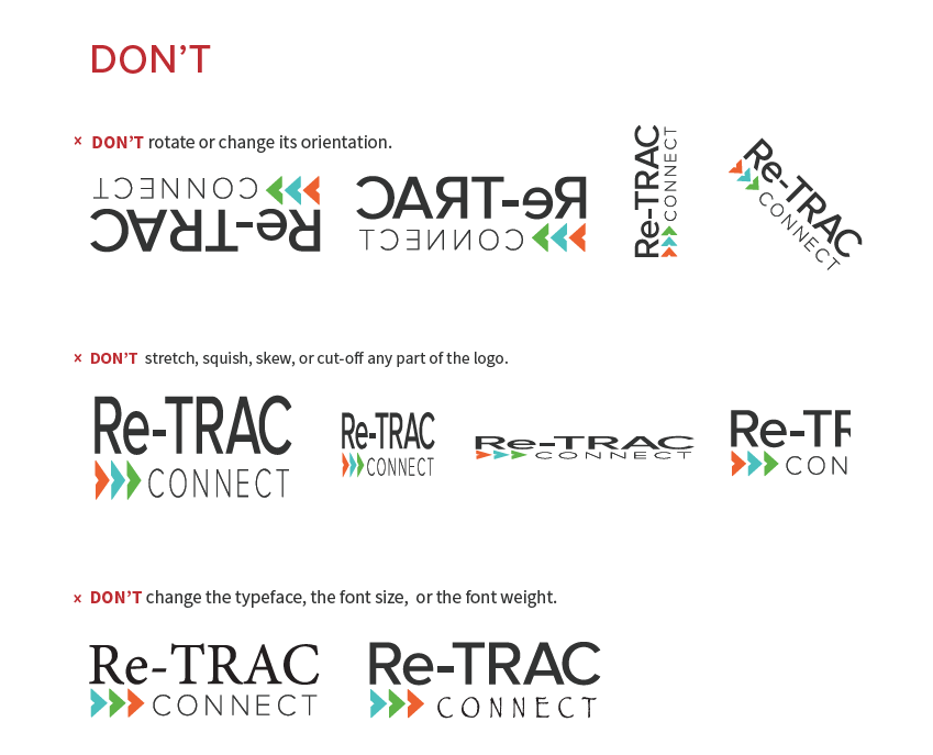 Re-TRAC Logo Guidelines