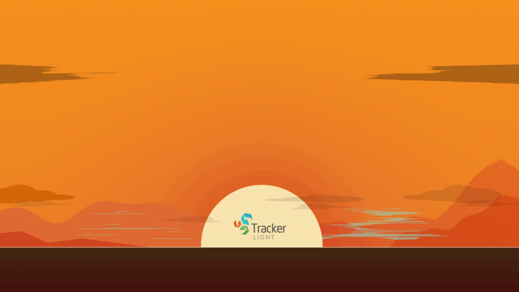 Sunsetting Tracker Light