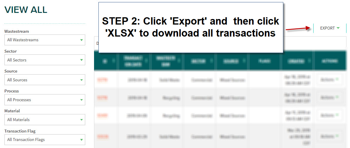 export step 2