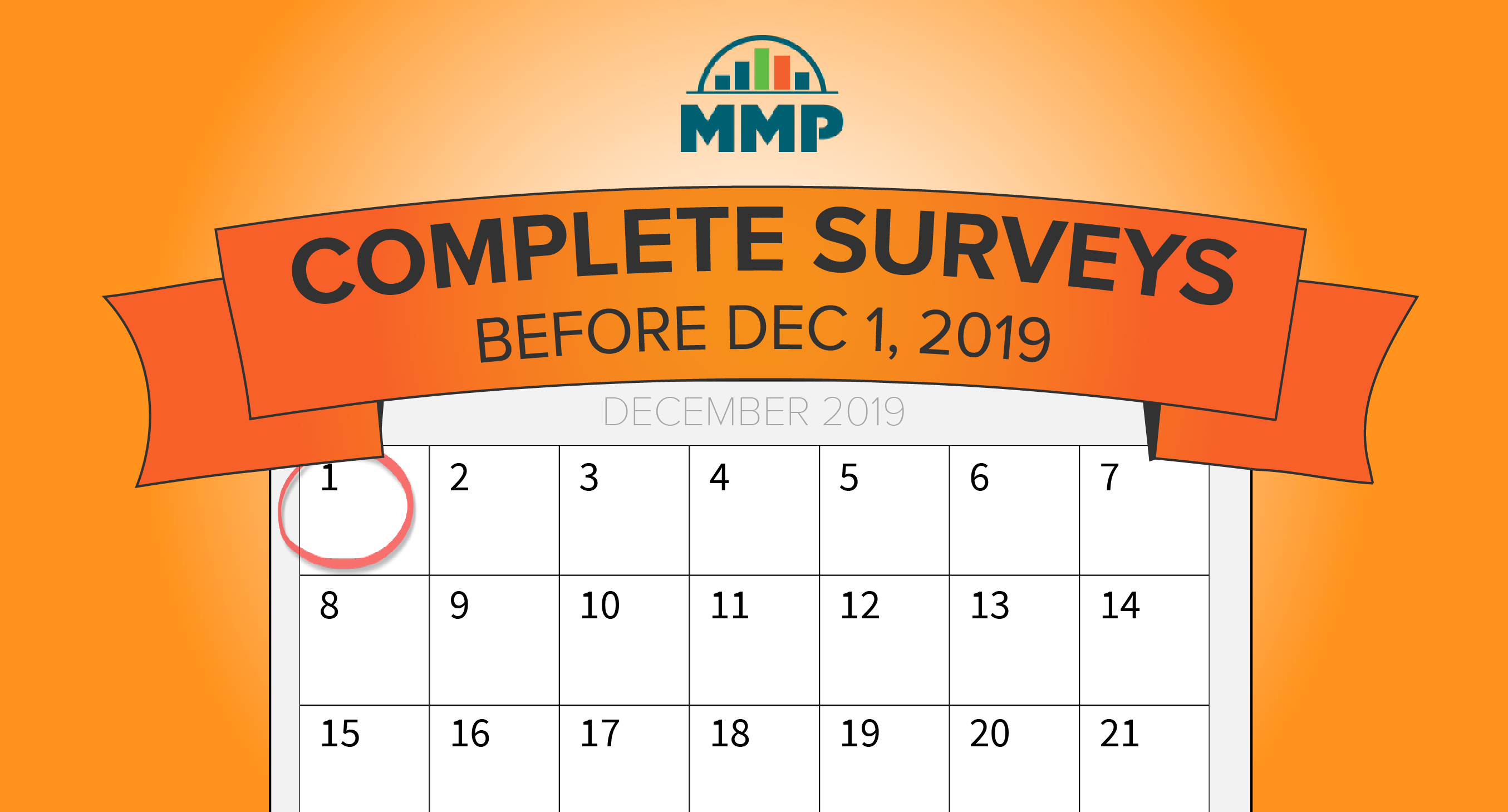 MMP reporting deadline is December 1, 2019
